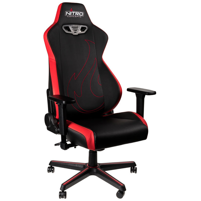 Nitro Concepts S300 EX Gaming Chair - Inferno Red
