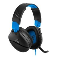Turtle Recon 70 Black / Blue Gaming Headset for PS4 Pro & PS4