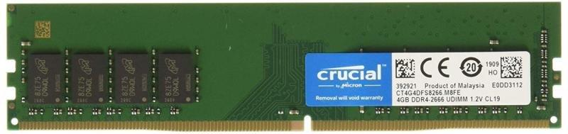 Crucial CT4G4DFS8266 4GB DDR4 2666 UDIMM