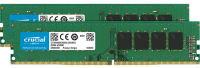 Crucial 8GB (2 x 4GB) DDR4 2666MHz UDIMM Memory Module - CT2K4G4DFS8266
