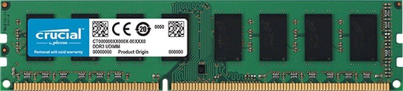 Crucial 4GB DDR3L 1600MHz Memory - CT51264BD160B