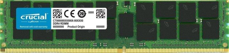 Crucial 32GB DDR4 2666 Mt/sPC4-21300 CL19 Dr x4