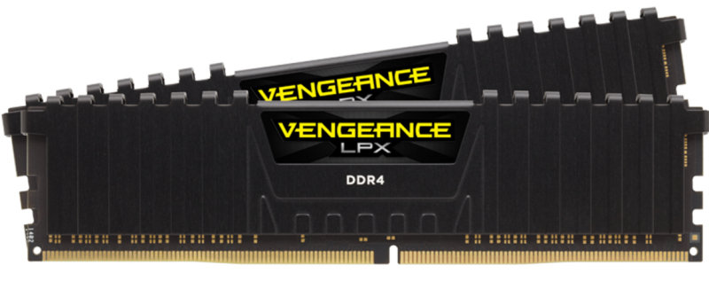 Corsair Vengeance LPX 16GB (2 x 8GB) DDR4 PC4-19200 2400MHz DIMM C16 Memory Kit
