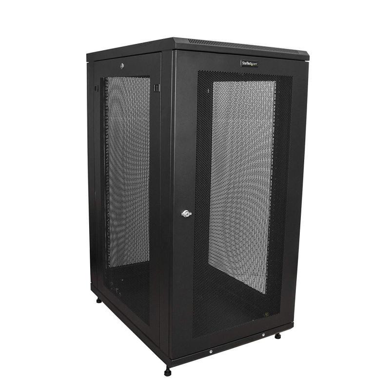 StarTech Server Rack Cabinet - 31 in. Deep Enclosure - 24U
