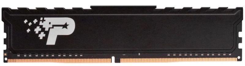 Patriot Signature Premium DDR4 8GB (1x8GB) 2666MHz (PC4-21300) UDIMM W/HEATSHIELD