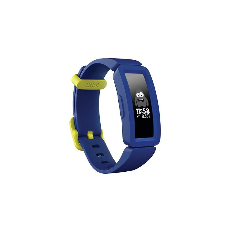 Image of Fitbit Ace 2 Kids Activity Tracker - Blue and Yellow