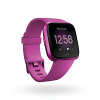 Fitbit Versa Lite Activity Tracker - Mulberry Aluminium