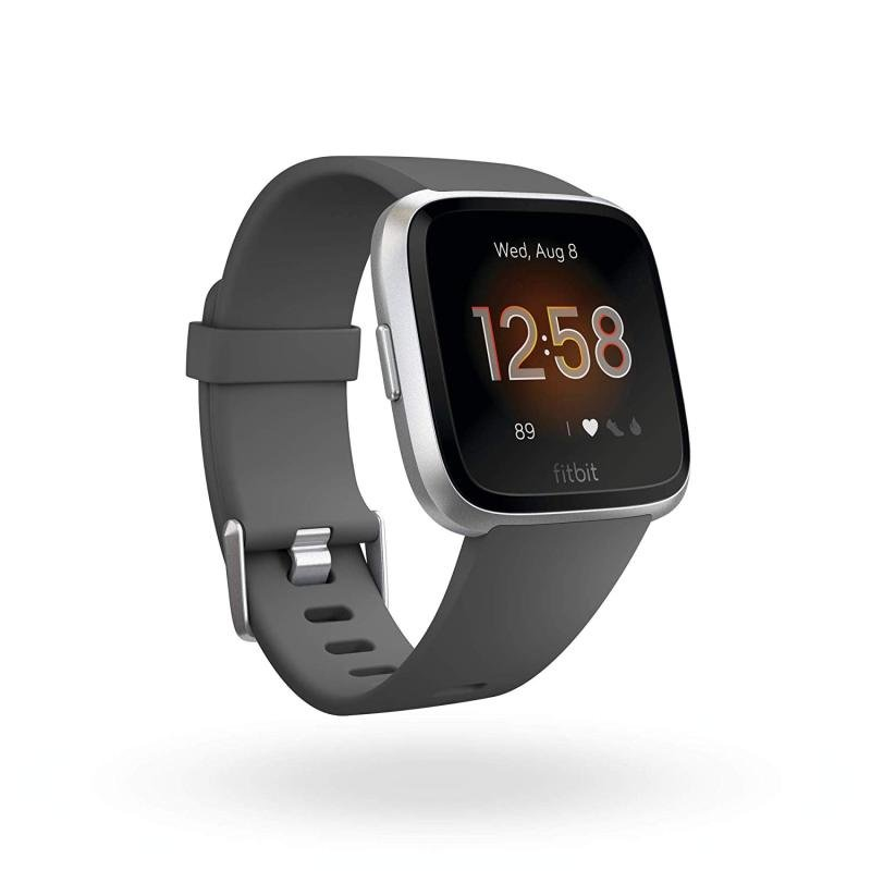 Fitbit Versa Lite Activity Tracker - Charcoal Aluminium