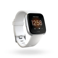 Fitbit Versa Lite Activity Tracker - White Aluminium