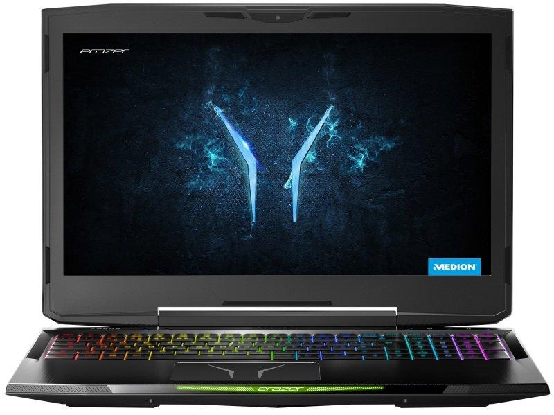 MEDION ERAZER X6805 GTX 1060 15in Core i5 8GB 256GB SSD 1TB HDD Win10 Home Gaming Laptop