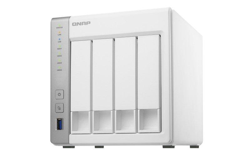 QNAP TS-431P 56TB (4 x 14TB SGT-IW PRO) 4 Bay Desktop NAS