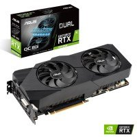 Asus GeForce RTX 2060 SUPER DUAL EVO OC 8GB GDDR6 Graphics Card