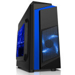 EG Cs55 Micro-ATX Tower Case - Blue