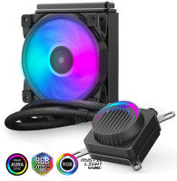EG 120P Halo 120MM Water Radiator with RGB Cooling Fan