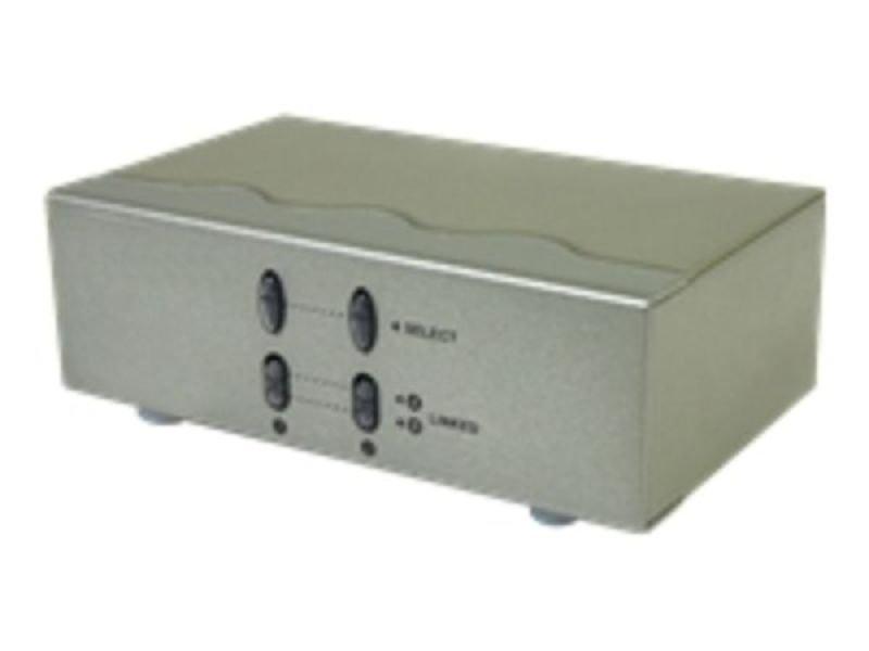 StarTech.com 2x2 VGA Matrix Video Switch Splitter with Audio