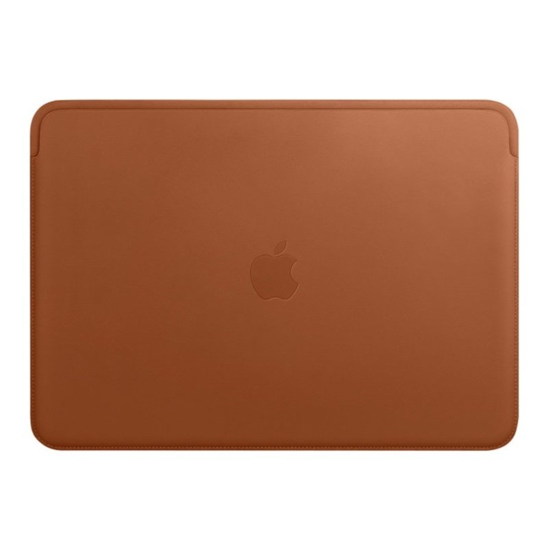 "Apple Leather Sleeve 15"" MacBook Pro Saddle Brown"