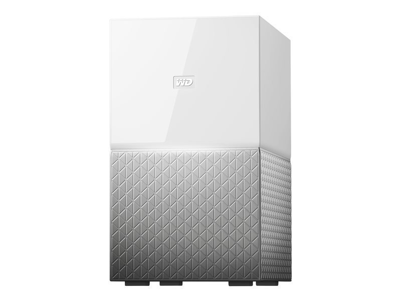 WD My Cloud Home Duo WDBMUT0040JWT - Personal Cloud Storage Device - 4 TB