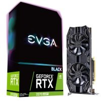 EVGA GeForce RTX 2070 SUPER BLACK GAMING 8GB GDDR6 Graphics Card