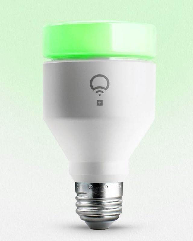 Image of LIFX + A19 Night Vision Enabled Smart Light Bulb E27