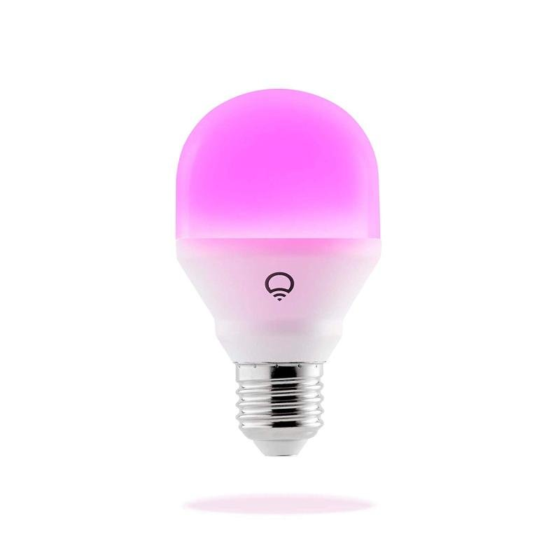 Image of LIFX Mini Colour Wi-Fi Smart LED Light Bulb E27