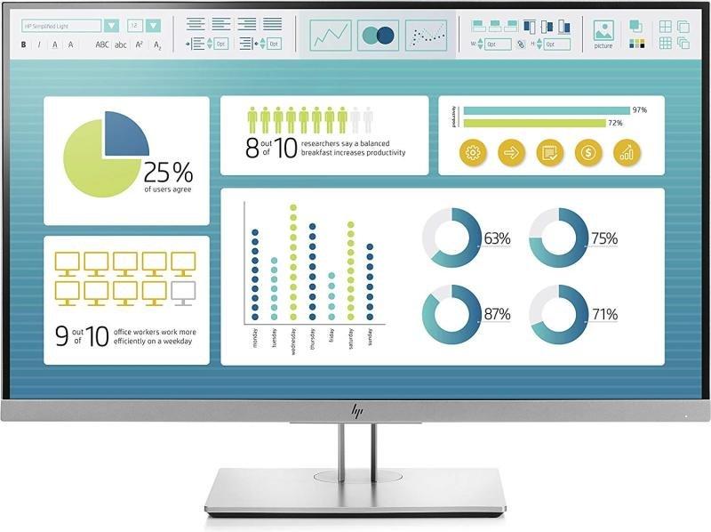 """HP EliteDisplay E273 27"""" Full HD Monitor"""