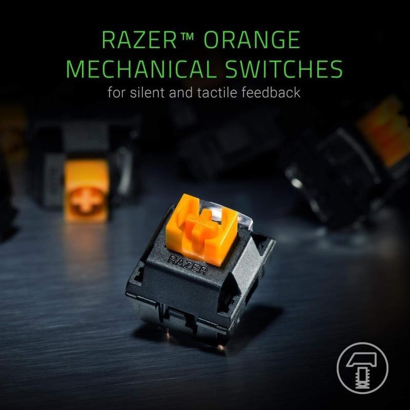 Razer BlackWidow Lite - Silent Mechanical Gaming Keyboard
