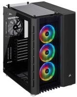 Corsair Crystal Series 680X RGB High Airflow Tempered Glass ATX Smart Gaming Case - Black