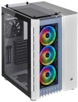 Corsair Crystal Series 680X RGB High Airflow Tempered Glass ATX Smart Gaming Case - White