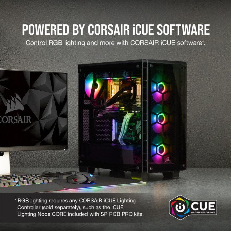 Corsair SP120 RGB PRO   Ebuyer com