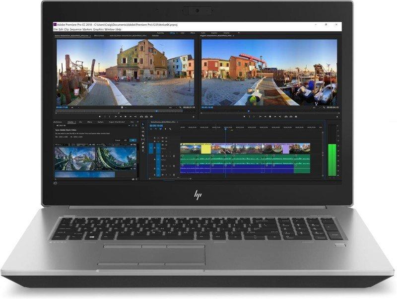 """HP ZBook 17 G5 i7-8850H 32GB 512GB SSD Quadro P3200 17.3"""" Win10 Pro Mobile Workstation"""