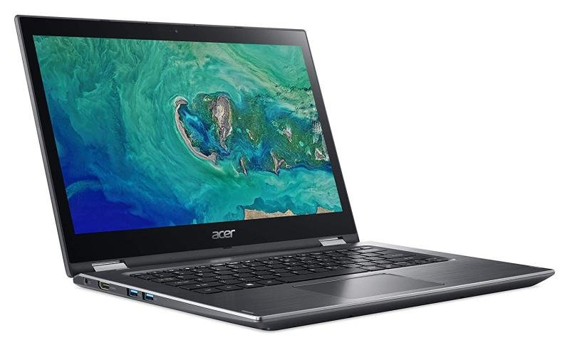 "Acer Spin 3 Intel Core i3-8145U 4GB 128GB 14"" Convertible Laptop"