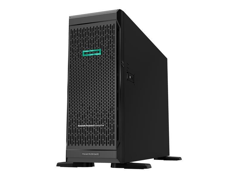 HPE ProLiant ML350 Gen10 Base Xeon Silver 4210 2.2 GHz 16 GB RAM 4U Tower Server
