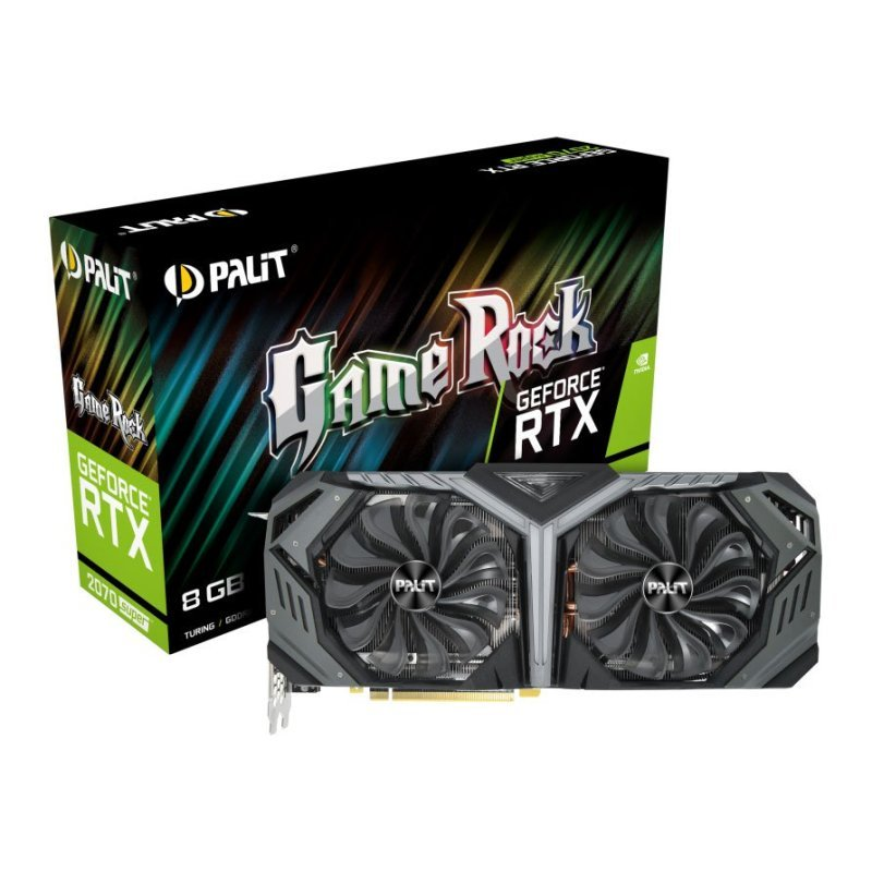 Palit GeForce RTX 2070 SUPER 8GB GameRock Graphics Card