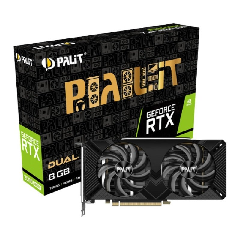 Palit GeForce RTX 2060 SUPER 8GB Graphics Card
