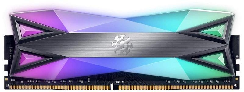 XPG DDR4 D60G RGB 16GB (2x8GB) 3000MHz PC4-25600 U-DIMM Desktop Memory