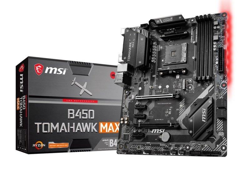 MSI B450 TOMAHAWK MAX AMD Socket AM4 Motherboard