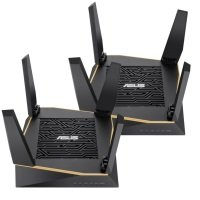 ASUS RT-AX92U (2 Pack) WIFI 6 AX6100 Tri-Band Mesh Gigabit Router