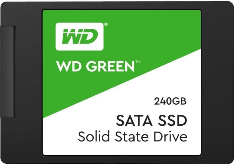 "WD Green 240GB 2.5"" 7mm Solid State Drive"