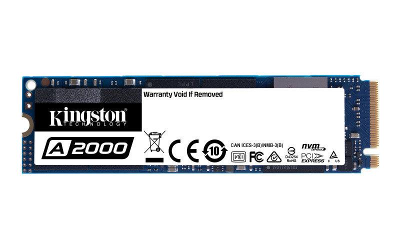Kingston 250GB A2000 M2 NVMe SSD
