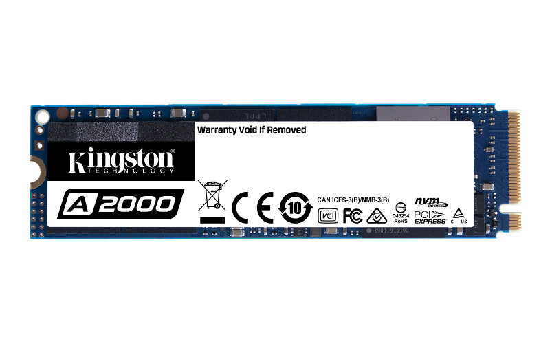 Kingston 500GB A2000 M2 NVMe SSD