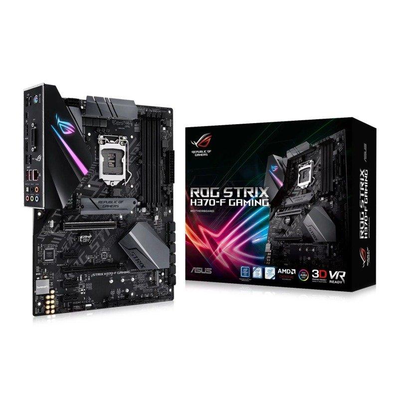 EXDISPLAY Asus ROG STRIX H370-F GAMING LGA 1151 DDR4 ATX Motherboard
