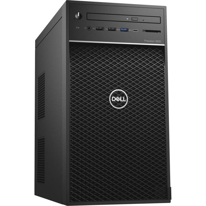 Dell Precision 3630 MT Xeon E-2174G 16GB 512GB SSD Quadro P620 Win10 Pro Workstation