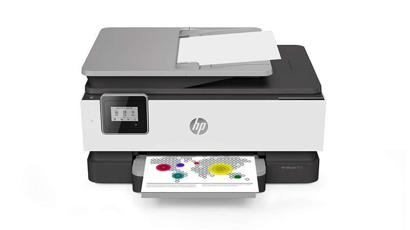 HP OfficeJet 8012 All-in-One Wireless Inkjet Printer