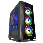 £1236.24, PC Specialist Renegade ST Core i7 9th Gen 16GB RAM 3TB HDD 256GB SSD RTX 2060 Gaming PC, Intel Core i7-9700 3.00GHz, 16GB, 3TB HDD, 256GB SSD, NVIDIA GeForce RTX 2060, Windows 10 Home 64 Bit, WIFI + 3 Year Warranty,