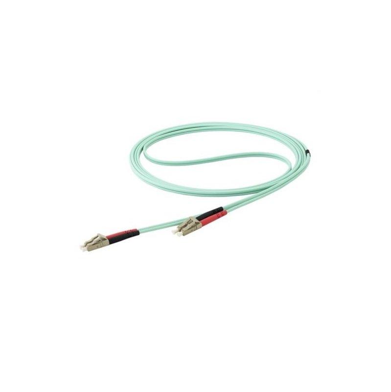 StarTech.com 10 m OM4 LC to LC Multimode Duplex Fiber Optic Patch Cable
