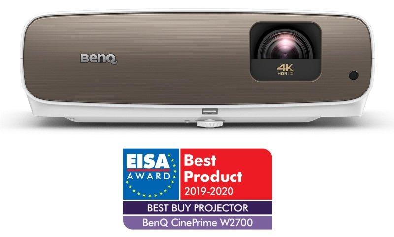 BenQ W2700 4K UHD DLP Home Cinema 3D Projector