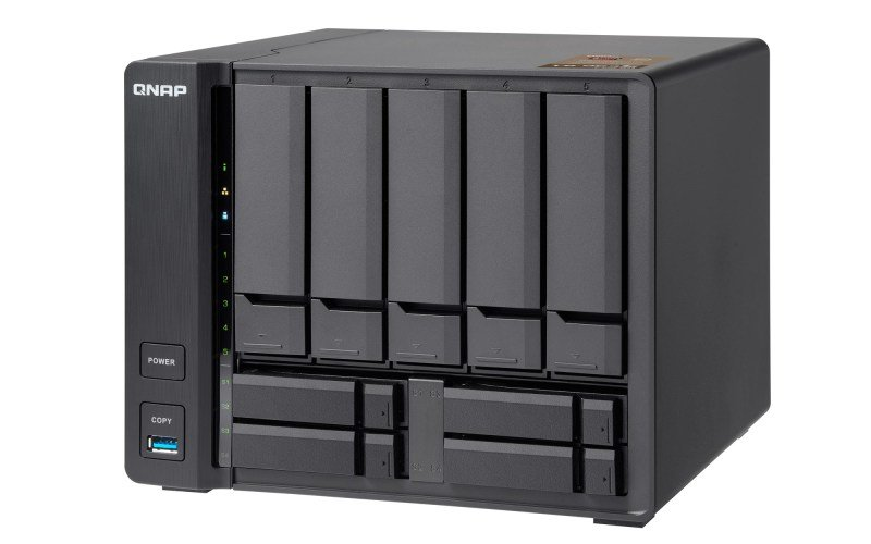 QNAP TS-963X-2G 40TB (5 x 8TB SGT-EXOS) 9 Bay Desktop NAS with 2GB RAM