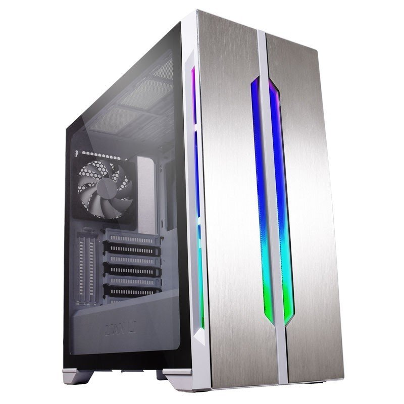 Image of Lian-Li Lancool One Digital Midi Tower Gaming Case - White Window
