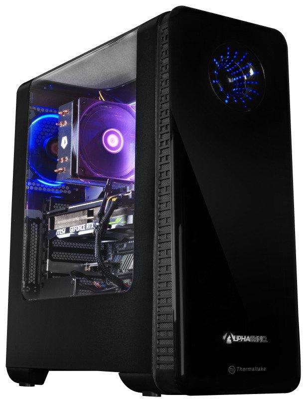 AlphaSync Core i7 9th Gen 16GB 2TB 256GB SSD RTX 2080 Super 8GB Gaming Desktop PC