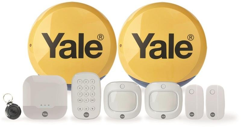 Yale IA-330 Sync Smart Home Alarm Family Kit Plus - Works with Alexa and Google Assistant